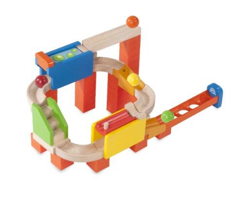 Wonderworld Trix Track Holz Kugelbahn 2 Way Flipper WW 7002 Spielzeug