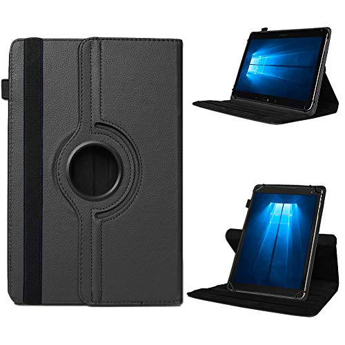 UC-Express Odys Connect 7 Pro Tasche Tablet Hülle Cover Hülle Schutzhülle 360° Drehbar Etui, Farben:Schwarz