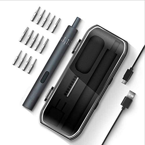 Destornillador pluma tipo mini destornillador eléctrico, automático con un par motor de carga juego de reparación de la batería de litio 800mAh Equipo electrónico Herramienta para Iphone / reloj ,A