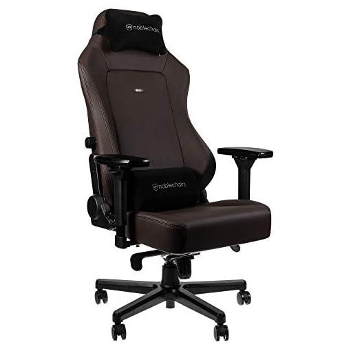 noblechairs Hero Sedia da Gaming - Sedia da ufficio - Sedia da scrivania - Ecopelle PU - 150 kg - 135° Reclinabile… 5