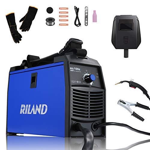 RILAND MIG Welder 110v, MIG Welding Machine,...