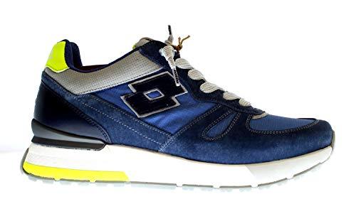 Lote Tokyo Shibuya 214024 Sneakers con cordones suede/nailon para hombre turquesa 43