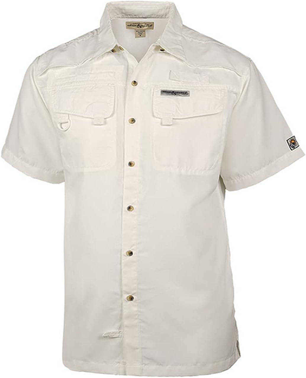 Hook & Tackle Men's Seacliff 2.0 | Short Sleeve | Vented | UV Sun Protection | Performance Fishing Shirt