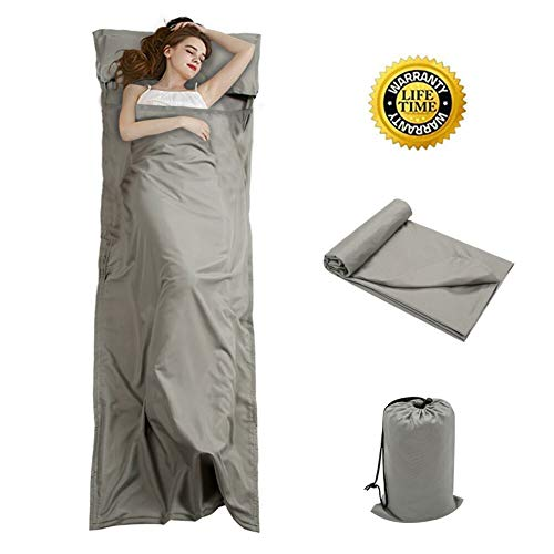 OTDEST Travel and Camping Sheet Sleeping Bag Liner -...
