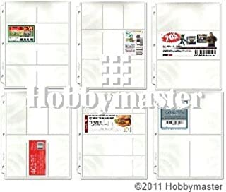 Hobbymaster Coupon Binder Pages - 50 Page Assortment + Bonus Sleeve