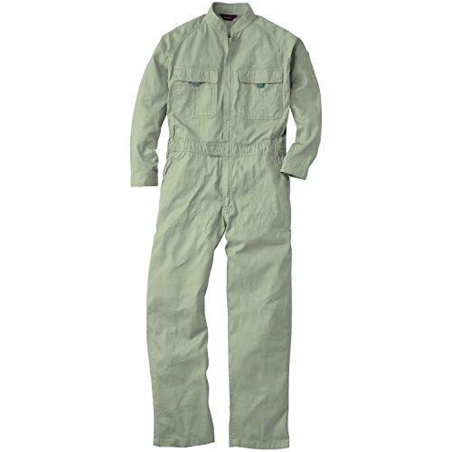 つなぎ 9000 オーバーオール 続き服 長袖 16カラー (L, ライトオリーブ)