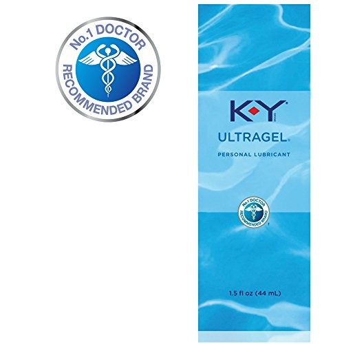 K-Y UltraGel Personal Lubricant, 1.5 oz. (pack of 4)