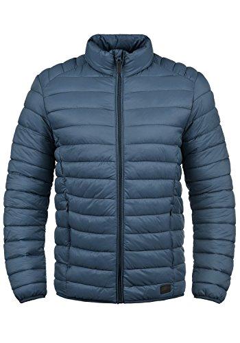 Blend Nils Herren Steppjacke Übergangsjacke Jacke mit Stehkragen, Größe:M, Farbe:Ensign Blue (70260)