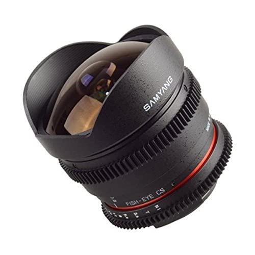 Samyang SAM8T38NIKON - Objetivo 8 mm T3.8 Fisheye VDSLR para Nikon (APS-C)