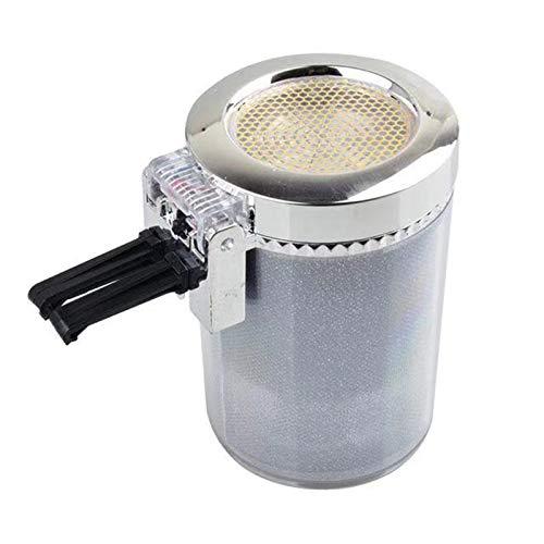 Cenicero, Cenicero de cenicero con cigarrillo LED Cigarro Cenicero Cenicero Cenicero Botella de gas Botella de humo Taza de almacenamiento Taza de almacenamiento Suministros para automóviles para ofic