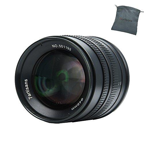 7artisans 55mm f1.4 APS-C Manuelle Fixiertes Objektiv für Fuji X-Mount-Kameras X-A1 X-A10 X-A2 X-A3 X-at M1 XM2 X-T1 X-T10 X-T2 X-T20 X-Pro1 X-Pro2 X-E1 X-E2 X-E2S