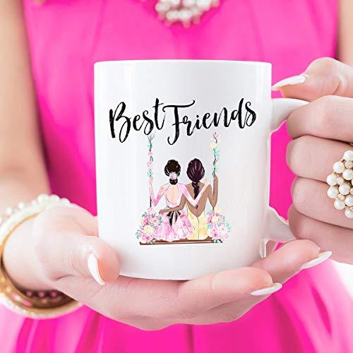 N\A Tazas de Mejor Amigo, Regalo de Mejor Amigo, Regalos para Las Hermanas de la Hermandad, Eres mi Persona, Regalo para un Amigo, Hermanas del Alma, Mejores Perras, Mejor Amiga, para Siempre