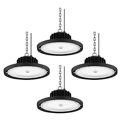 200W focos led interior techo,Industrial LED Iluminación Comercial Luces para Fábrica,UFO LED...