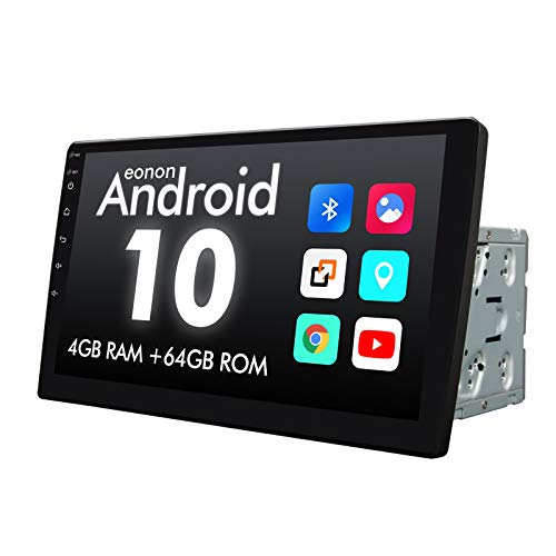 2021 Newest Type Double Din Octa-core 4GB+64GB Car Stereo, Eonon 10.1 Inch Android 10 Car Radio GPS Navigation Built-in Apple Car Auto Play& DSP Supports Android Auto/Fast Boot/Backup Camera- GA2185