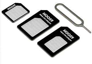 CABLEPELADO Adaptador de Tarjeta nanoSIM microSIM y SIM para movil
