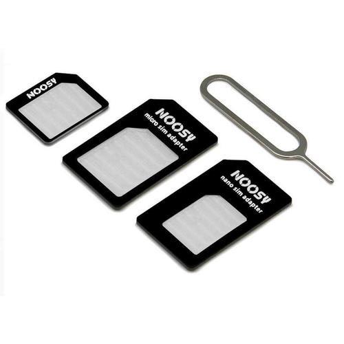 CABLEPELADO Adaptador de Tarjeta nanoSIM microSIM y SIM para