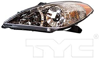 CarLights360: Fits 2004 2005 2006 Toyota Solara Headlight Assembly Driver Side (Left) w/Bulbs - Replacement for TO2502152