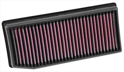 K&N 33-3007 Motorluftfilter: Hochleistung, Prämie, Abwaschbar, Ersatzfilter, Erhöhte Leistung, 2012-2019 (Dokker, Duster, Lodgy, Logan, Sandero, Vesta, Captur, Clio IV, SAMSUNG QM3)