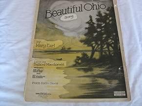 BEAUTIFUL OHIO MARY EARL 1918 TATTERED SHEET MUSIC FOLDER 456 SHEET MUSIC