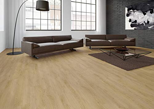 JOKA Classic Designböden330 2,0mm/NS 0.4mm Dryback 2854 Fresh Oak 18,42x121,92cm Paket 3,37 m² Vinylboden Klebevariante