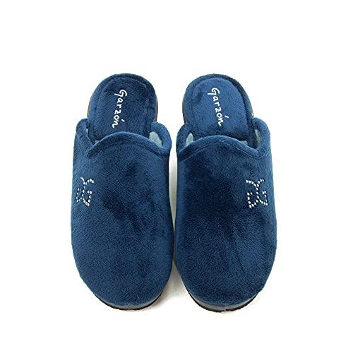 GARZON - Zapatilla CASA 1824.247-BLM para: Mujer Color: Azul Marino Talla: 39