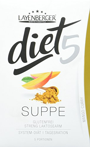Layenberger diet5 Suppe Mango-Curry, 5 Stück