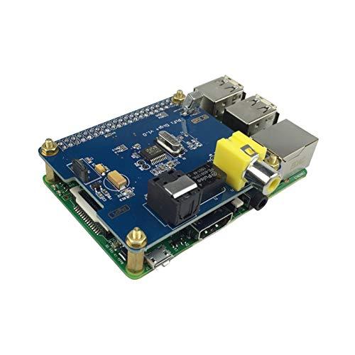 Interslife I2S LWL - Tarjeta de Sonido Digital Hi-Fi para Raspberry Pi 3 / 2B Multicolor