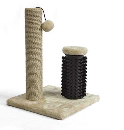Amazon Basics Cat Scratching Post with Brush