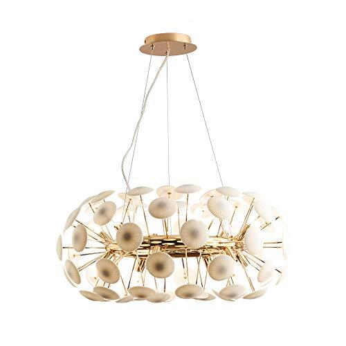 Casquillo G9, lámpara colgante moderna para comedor, comedor, lámpara colgante de 40 W, seta de cerámica, creativa, 12 focos,...
