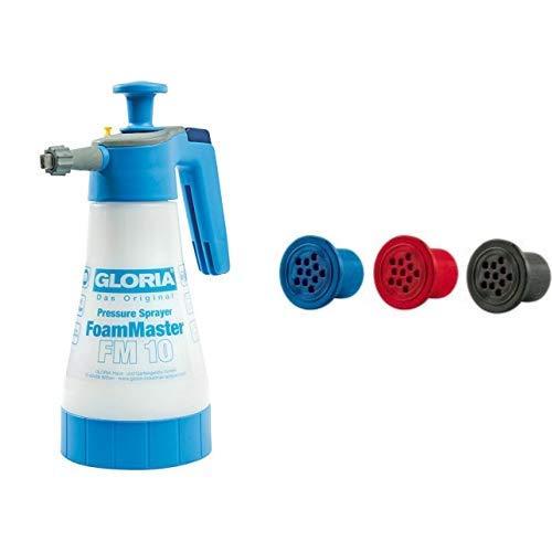 GLORIA FoamMaster FM 10, Universal-Schaumerzeuger, verstellbar & Ersatz Schaumpatronen für alle FoamMaster und FoamyClean Geräte