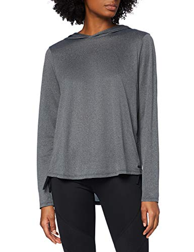 Amazon-Marke: AURIQUE Damen Sporthoodie, Schwarz (Black), 42, Label:XL