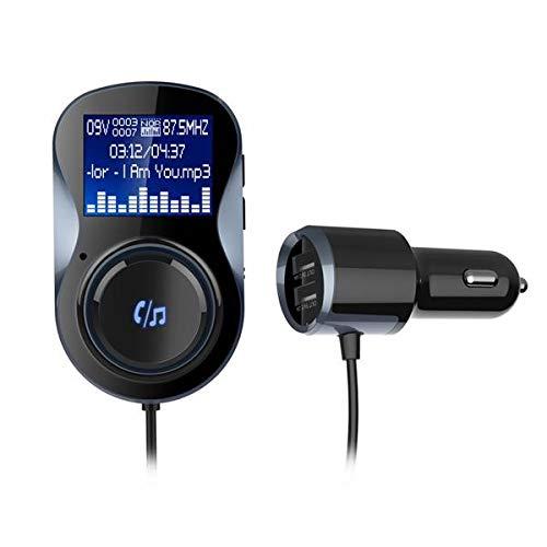 ZWwei Herramientas de coche y equipo BC30 coche 4.1+EDR bluetooth MP3 reproductor manos libres Dual USB FM transmisor cargador de coche piezas de coche kits herramientas de coche