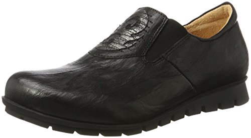 Think! Damen Menscha_181079 Slipper, Schwarz (Sz/Kombi 09), 36 EU