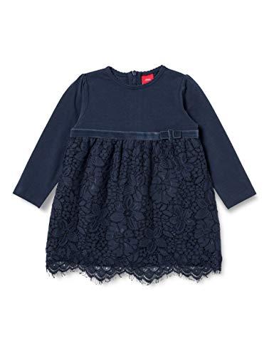 s.Oliver Junior Baby-Mädchen 405.10.102.20.200.2062592 Kleid für besondere Anlässe, Blue, 86