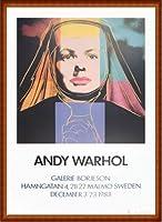 ポスター アンディ ウォーホル Ingrid The Nun 1983 額装品 ウッドハイグレードフレーム(ナチュラル)