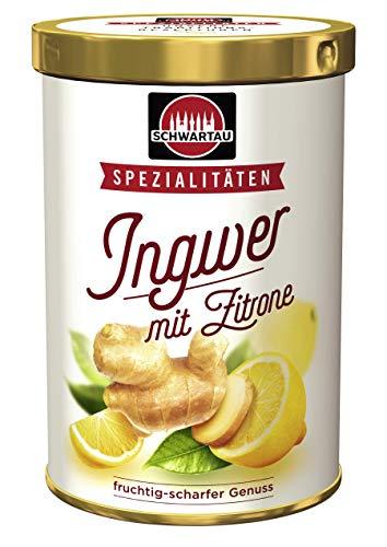 Schwartau Spezialitäten Ingwer mit Zitrone, fruchtig scharfter Fruchtaufstrich, 6er Pack (6 x 350 g Dose) 18939