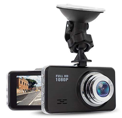 Beatfoxx Thirdeye DC-15 Full HD autodashcam - compacte camera voor de voorruit, met versnellingssensor, microfoon en loopfunctie - incl. houder en netsnoer