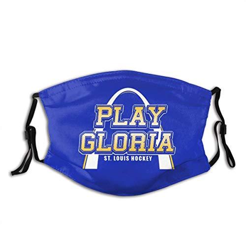 BIT St. Louis Hockey Play Gloria Maschera regolabile, passamontagna, può andare in bicicletta, corsa, arrampicata su roccia, ecc.