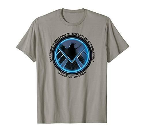 Marvel S.H.I.E.L.D Logistics Logo Graphic T-Shirt