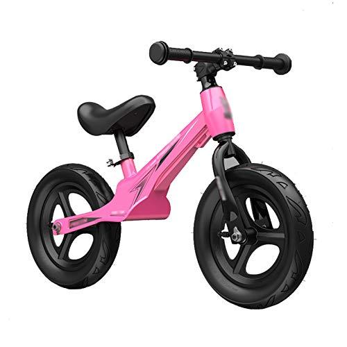 HYDT Laufräder Kids 'Balance Bikes 12 Zoll, Kein Pedal Trainingsrad für 3-7 Jährige, Air Wheel Magnesium Alloy...