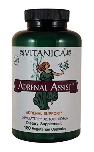 Vitanica Adrenal Assist, Adrenal Support, Vegan, 180 Capsules