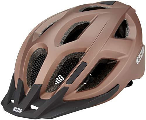 ABUS Aduro 2.0 Stadthelm - Allround-Fahrradhelm in sportivem Design für den Stadtverkehr - für Damen und Herren - 82660 - Kupfer (Metallic-Effekt), Größe S