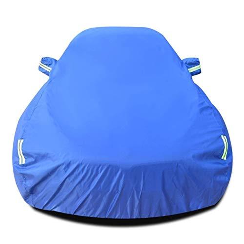 Beschermhoes voor jongeren, RS 4 vooraan, voor auto, voor buiten, ademend, voor voorruit, waterdicht, crème, zonwering, UV-bescherming, krasbestendig, alle weersomstandigheden (kleur: zwart) Elise