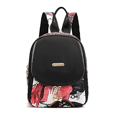 Mini mochila de moda para mujer,Bolso cruzado pequeño de viaje bolsas de hombro,Mochila impermeable Mini bolsas de hombro