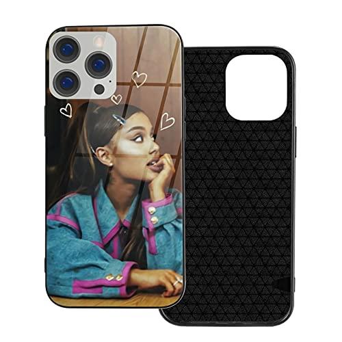 Carcasa suave para iPhone 12, diseño de Ariana Grande Ag Rainbow