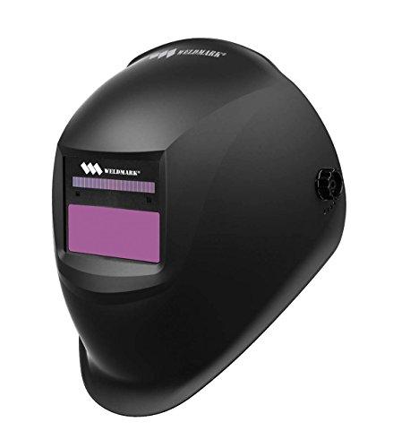 Weldmark Variable Shade Auto-Darkening Welding Helmet - BLACK WM8VS9-13H