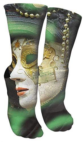 remmber me Karnevalmaske aus Weißgold Crazy Socks 3D Crew Socks