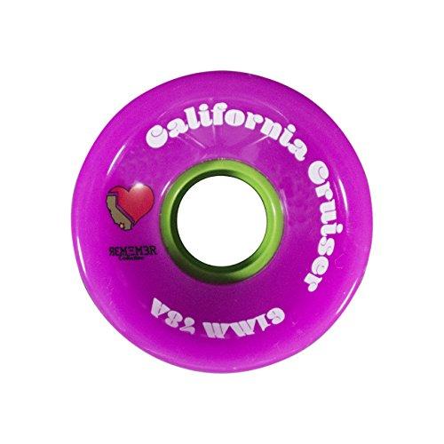 Remember Wheels California Cruiser 78a Rollen, Pink, 61x50mm