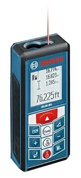 BOSCH 265-Feet Lithium-Ion Laser Distance Measurer GLM 80  Discontinued by Manufacturer