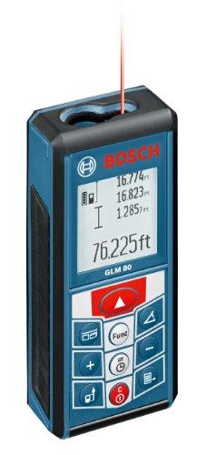 Bosch 265-Feet Lithium-Ion Laser Distance Measurer GLM 80 (Discontinued by Manufacturer)